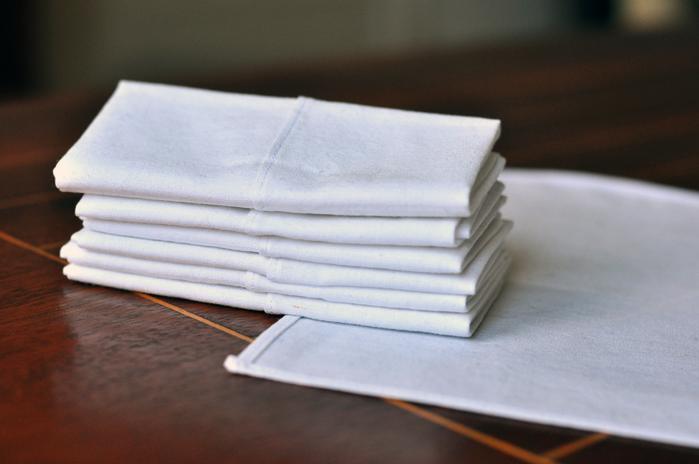 Taschentücher selbst genäht