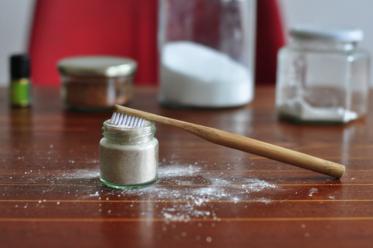 Zahnpulver selbst hergestellt