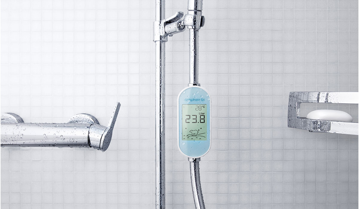 The device must be directly connected to the shower head.